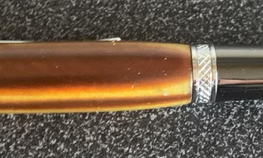 Alternative Tortoiseshell (acrylic) ballpoint pen
