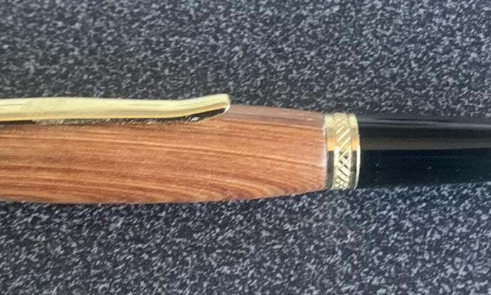 Spitfire propeller ballpoint pen