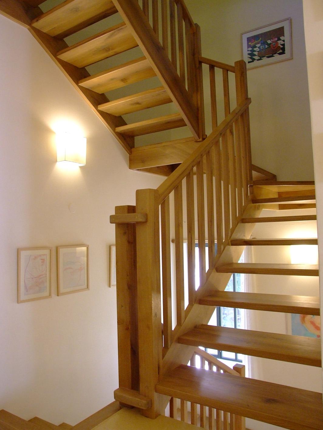 מדרגות עץ קלות