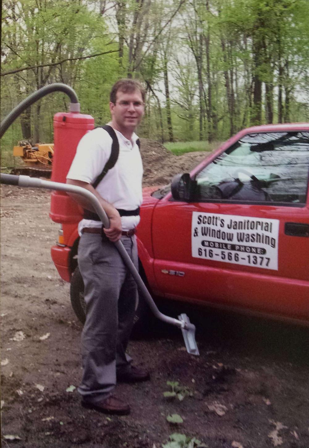 Scott Britton, Happy Window Cleaning, marketing, financials, open book policy, happy
