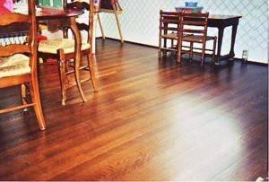 Naturally Clean Wood Flooring