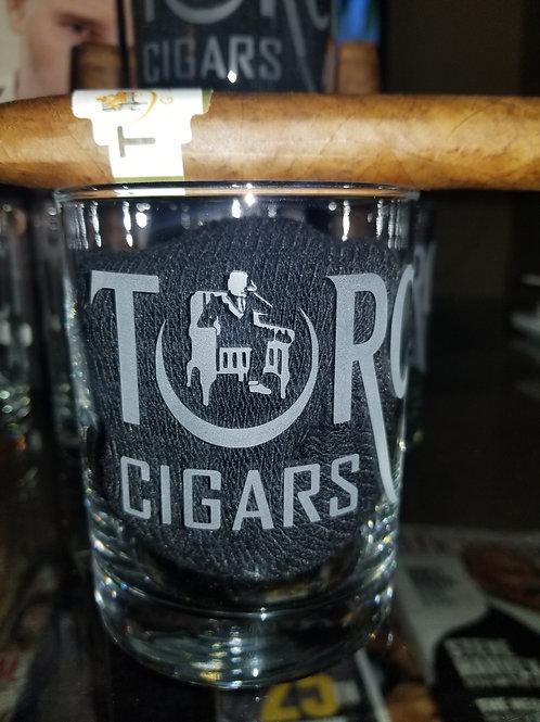 Torch Cigars Premium Drinking Glass