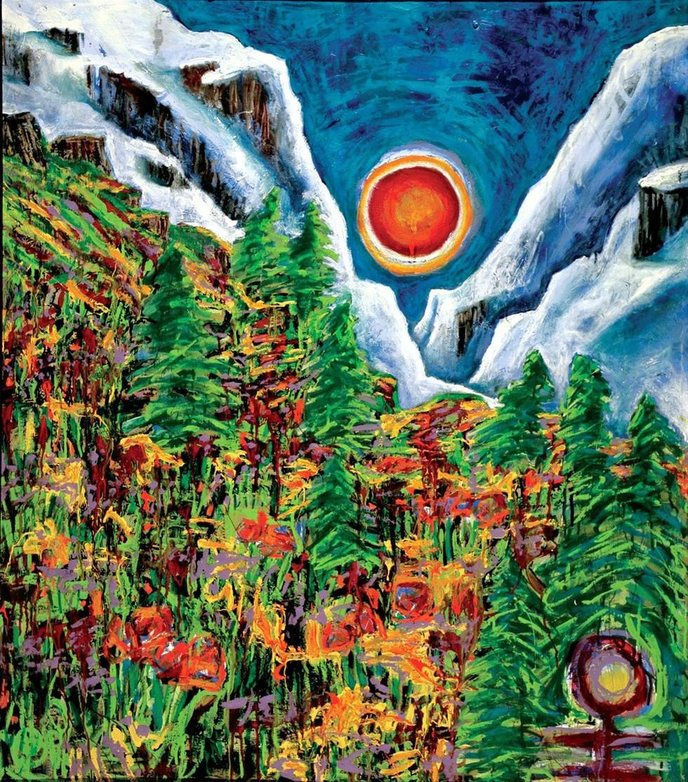 Provo Canyon Springtime, 1998