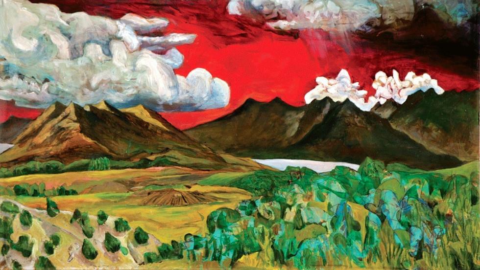 Looking North at Utah Valley, 2008