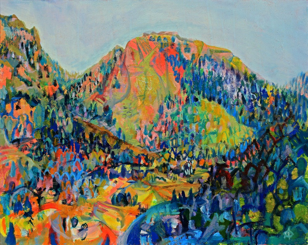 Timpanogos Landscape No. 1, 2011