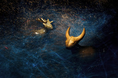 Сказочный лес, керамические фигурки Дарьи Бобровой