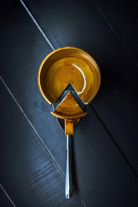 Недостающий элемент, керамическая посуда Дарьи Бобровой