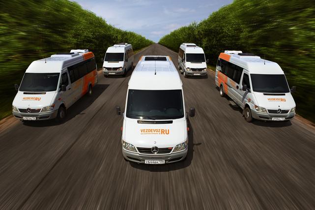 Mercedes Sprinter, компания Вездевоз