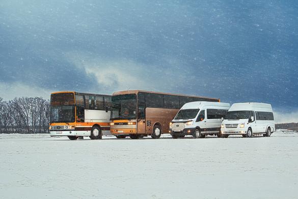 Автобусы для компании Вездевоз