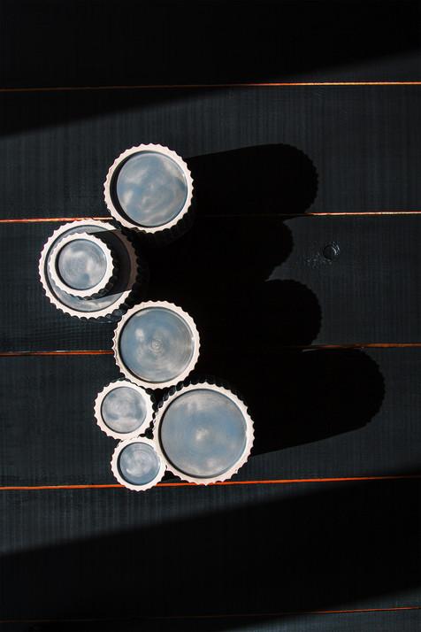 Механизм, керамическая посуда Дарьи Бобровой