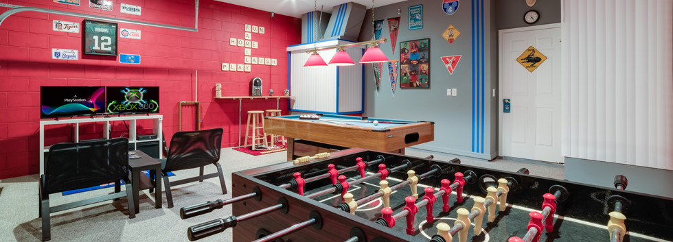 Awesome gamesroom
