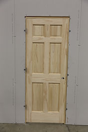 installing door opening