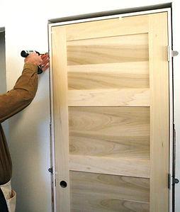 replacing old door