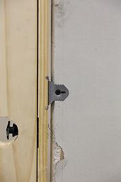 door knob side
