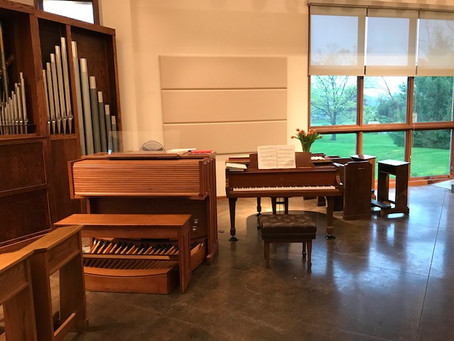 New Piano in Nave