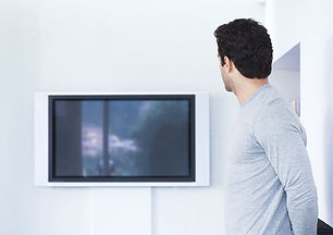 Flatscreen Телевидение