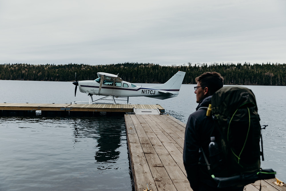 Isle Royale Sea Plane Dock Backpacking