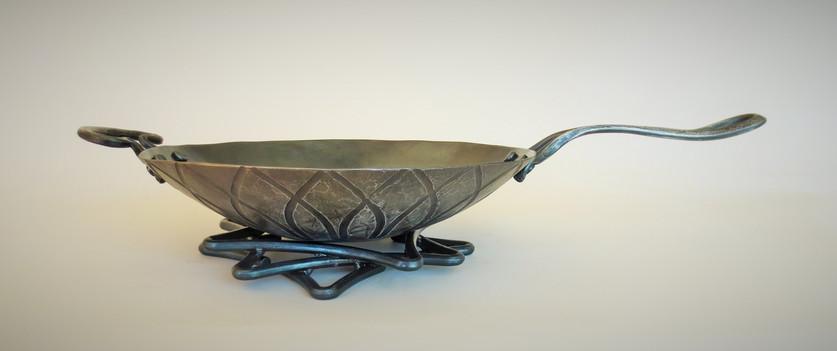 """13"""" wok with omni handle - $370"""