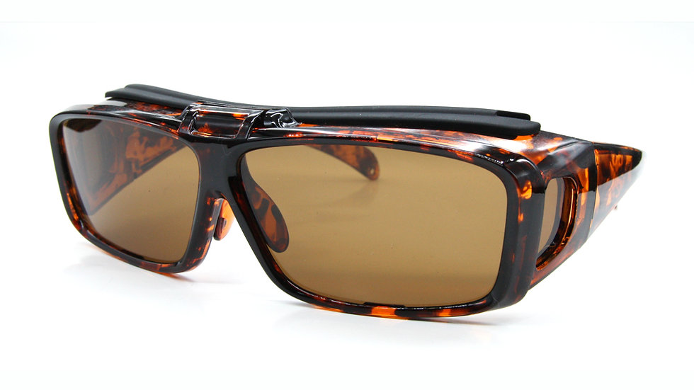 Fit over clip on sunglasses P-4387