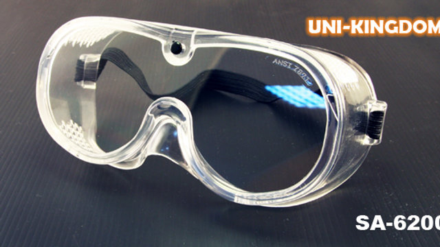 Medical goggles Anti-fog with strap- UNI-KINGDOM manufacturer Taiwan