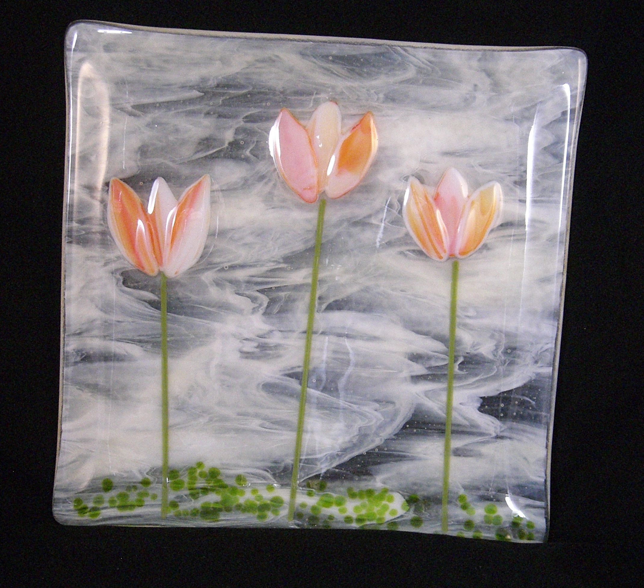 Tulips in a Field $89