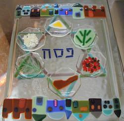 Jerusalem Seder Plate