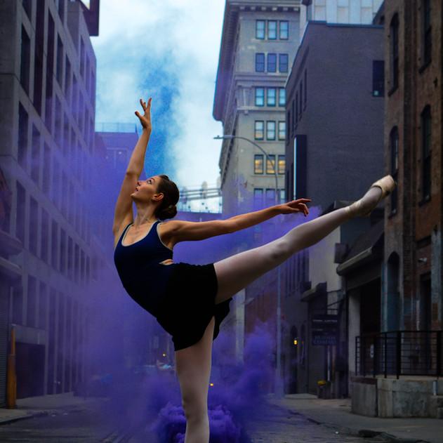 The Smoking Ballerina