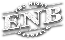 Emo Night Brooklyn Official Logo With Sh