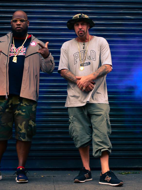 Meyhem Lauren and DJ Muggs of Cypress Hill