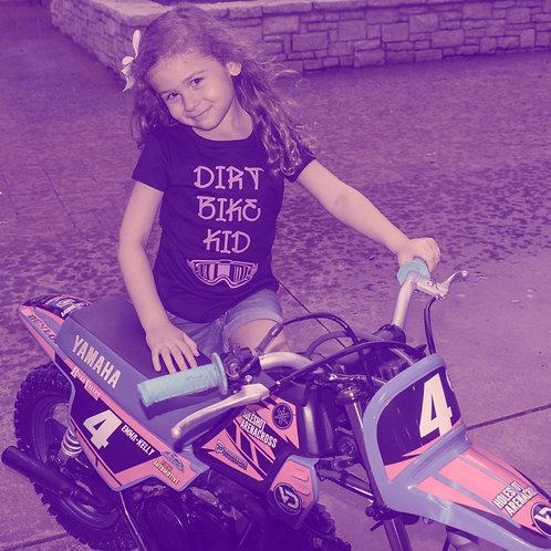 Youth Purple Dirt Bike Kid