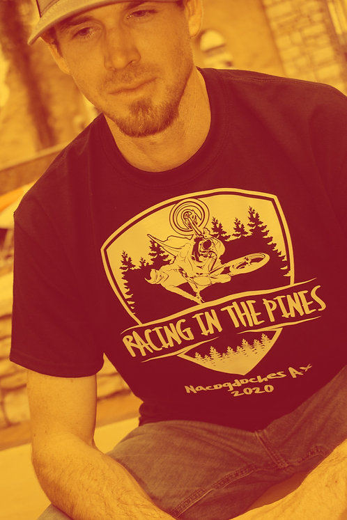 Official Racing In The Pines T-shirt