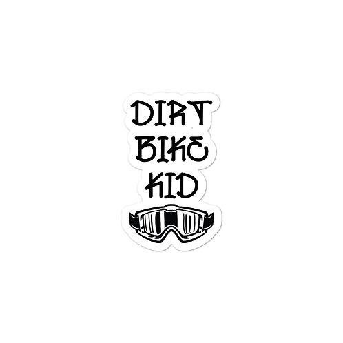 Dirt Bike Kid Decal
