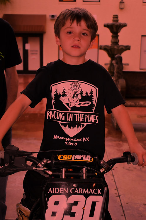 Youth Racing In The Pines T-Shirt