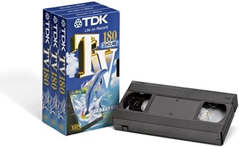 TDK cinta virgen VHS