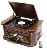 ROADSTAR Tocadiscos, cassete, radio, USB