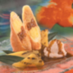 Xango - Banana Caramel Cheesecake