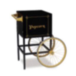 Popcorn Cart - Retro Cart 8oz