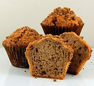 Muffins - Unbaked - Pan Free - 2.5oz - Cinnamon