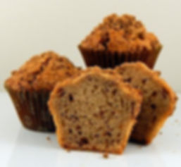 Muffins - Unbaked - Pan Free - 2.5oz - Cinnamon