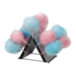 Cotton Candy Display Rack