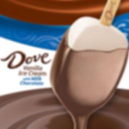 Dove Bar - Vanilla Milk