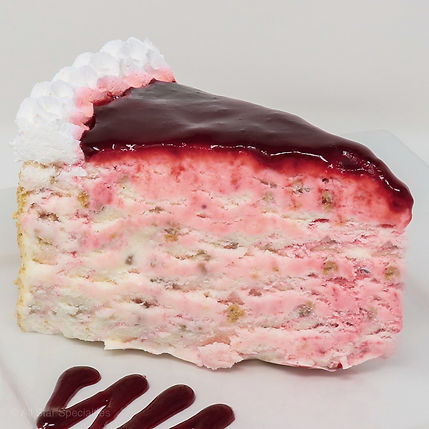 Ice Cream Cake - Strawberry Cheesecake