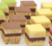 Symphony Pastries: Strips, Individuals, and Petit Fours