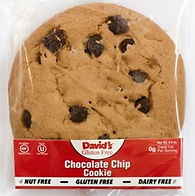 David's - Gluten Free - Choc. Chip Cookies Wrapped