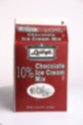 Chocolate Ice Cream Mix - 10% Butterfat