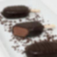 Mini Ice Cream Pops - Chocolate