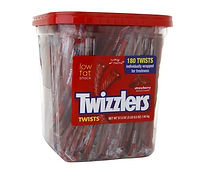 Twizzlers - Jar - Individually Wrapped