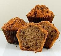 Muffins - Unbaked - Pan Free - 4.25 oz - Cinnamon Coffee Cake