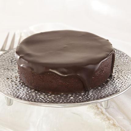 """Flourless 3"""" Chocolate Cake"""