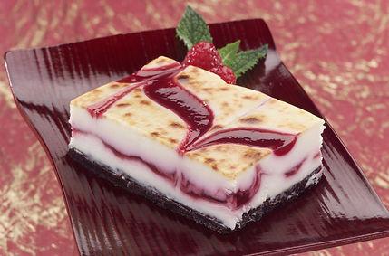 Brulee Raspberry White Chocolate Bar